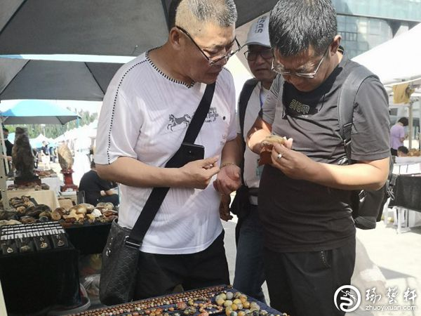 巴彦淖尔市举办观赏石宝玉石文化旅游博览会
