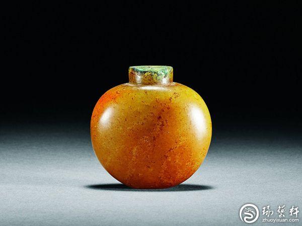 怎样区分和田玉中的黄玉与黄口料?