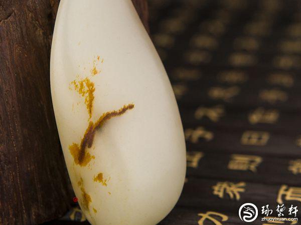 如何看和田玉籽料是否修型